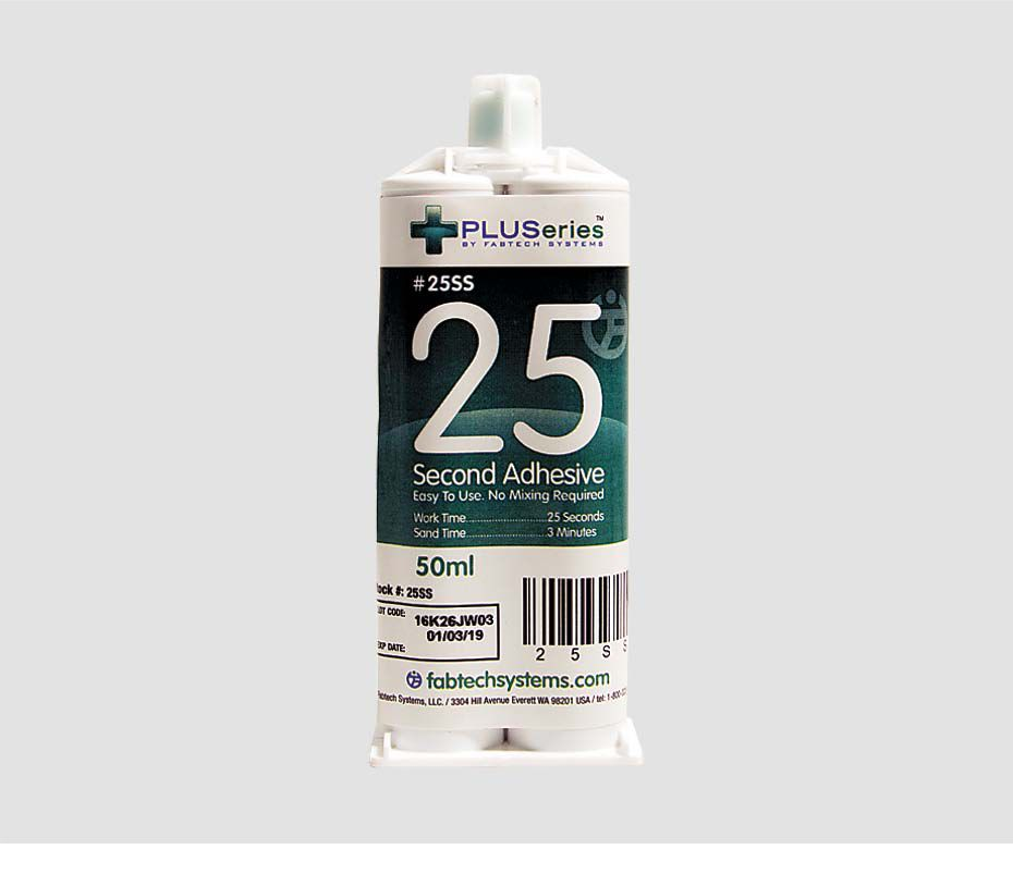 25SS PLUSeries 50 ml 25 Second Adhesive (Small)
