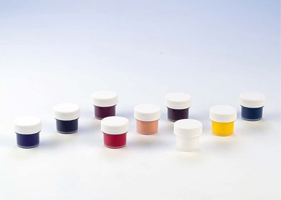 Набор пигментов для силикона